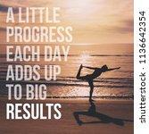 inspirational and motivation... | Shutterstock . vector #1136642354
