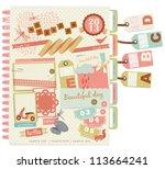 vintage design elements  6  | Shutterstock .eps vector #113664241