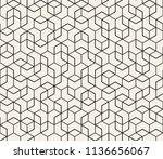 abstract seamless lattice... | Shutterstock .eps vector #1136656067