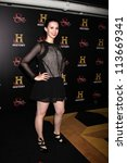 """Small photo of LOS ANGELES - SEP 22: Alix Berg arrives at the """"HATFIELDS & McCOYS"""" Pre-Emmy Party. at SOHO Club on September 22, 2012 in West Hollywood, CA"""