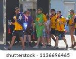samara  russia   june 21  2018  ... | Shutterstock . vector #1136696465