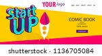 isometric startup banner....