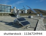 solar panel  alternative... | Shutterstock . vector #1136724944