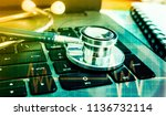 medical marketing and... | Shutterstock . vector #1136732114