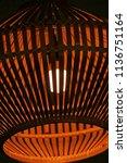 decorative ceiling lamp   Shutterstock . vector #1136751164