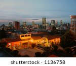 city in the night | Shutterstock . vector #1136758