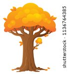 tree topic image 2   eps10... | Shutterstock .eps vector #1136764385