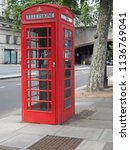 london  uk   circa june 2018 ... | Shutterstock . vector #1136769041