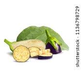 fresh  nutritious  tasty... | Shutterstock .eps vector #1136798729