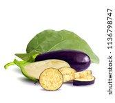 fresh  nutritious  tasty... | Shutterstock .eps vector #1136798747