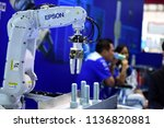 new machine manufacturers and... | Shutterstock . vector #1136820881