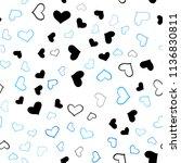 light blue vector seamless... | Shutterstock .eps vector #1136830811