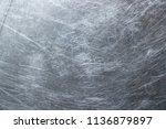 texture of stainless steel... | Shutterstock . vector #1136879897