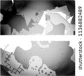 abstract vector background dot... | Shutterstock .eps vector #1136882489