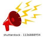 vector icon of vintage... | Shutterstock .eps vector #1136888954