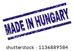 made in hungary stamp seal... | Shutterstock .eps vector #1136889584