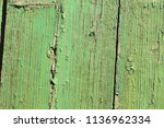 natural green wood texture with ... | Shutterstock . vector #1136962334