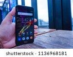 jakarta  indonesia   july 18 ... | Shutterstock . vector #1136968181