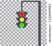 traffic light icon | Shutterstock .eps vector #1136969981