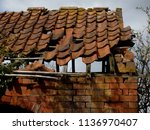 Colour Image Of The Roof Of An...