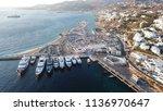 aerial drone bird's eye view... | Shutterstock . vector #1136970647