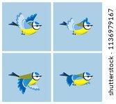vector illustration of cartoon ...   Shutterstock .eps vector #1136979167