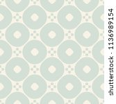 vector ornamental seamless... | Shutterstock .eps vector #1136989154