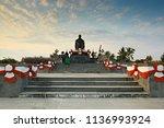 prachuap khiri khan thailand... | Shutterstock . vector #1136993924