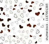 dark red vector seamless... | Shutterstock .eps vector #1137001385