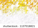 light green  yellow vector... | Shutterstock .eps vector #1137018821