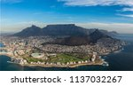 helicopter flight over capetown | Shutterstock . vector #1137032267