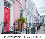 london  july  2018  colourful...   Shutterstock . vector #1137047834