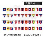 asean   association of... | Shutterstock .eps vector #1137054257