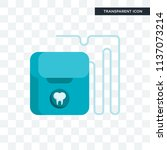 floss vector icon isolated on... | Shutterstock .eps vector #1137073214