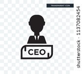 chief executive officer vector... | Shutterstock .eps vector #1137082454
