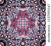 openwork pattern in various... | Shutterstock .eps vector #1137093167