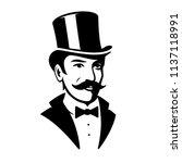 victorian gentleman top hat...