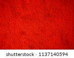 full frame of red floor short... | Shutterstock . vector #1137140594