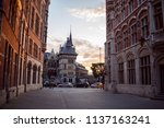 A Picturesque Street In The...