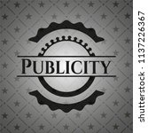 publicity black badge | Shutterstock .eps vector #1137226367