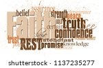 graphic typographic montage... | Shutterstock .eps vector #1137235277