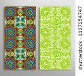 vertical seamless patterns set  ...   Shutterstock .eps vector #1137254747