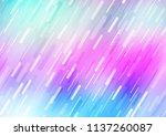 light multicolor  rainbow... | Shutterstock .eps vector #1137260087