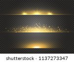 glowing light burst explosion... | Shutterstock .eps vector #1137273347