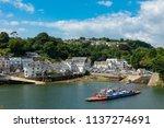 Fowey Cornwall England July 14  ...