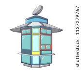 street shop kiosk icon. cartoon ... | Shutterstock .eps vector #1137279767