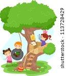 Illustration Of Kids Playing I...