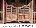Old Saloon Entrance With...