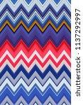 chevron zigzag pattern abstract ...   Shutterstock . vector #1137292997