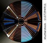 fish eye photo of shutters  ... | Shutterstock . vector #1137294911